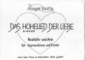 00 Das Hohelied der Liebe