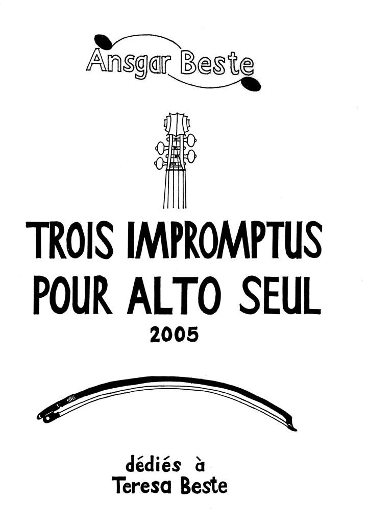 02 Trois impromptus